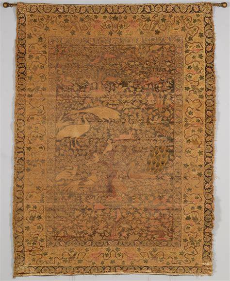 rug displays lot 840 silk qum rug display mounting