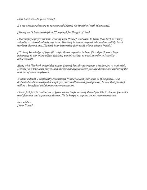 letter of recommendation format for mba best of sample mba within