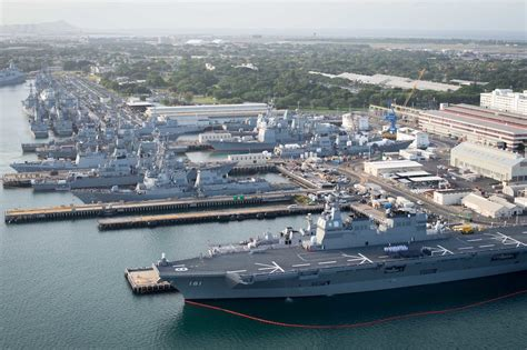 pearl harbor port ship photos of the day pearl harbor during rimpac 2016