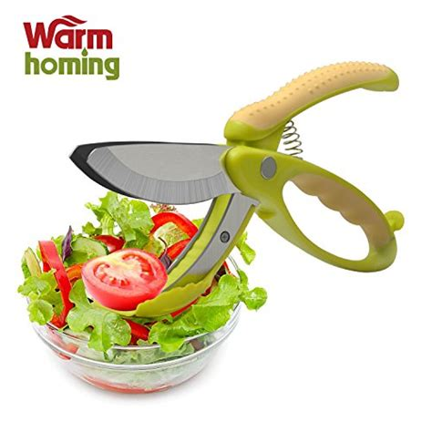 Salad With Non Slip Handles Pengaduk Salad salad tongs warmhoming non slip grips toss and chopped salad scissors with stainless steel