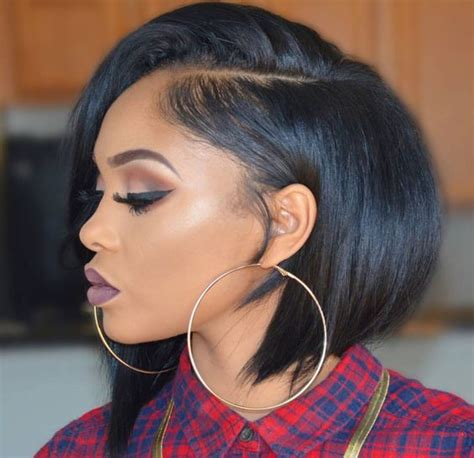 photos of relaxed bob hairstyles for black women 11 fierce relaxed bobs for black women 2018 hairstyle guru