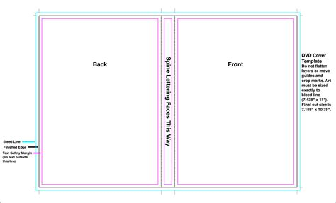 format of dvd dvd case template cyberuse