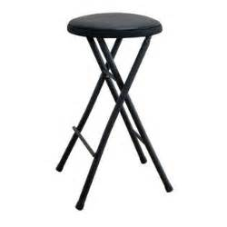 cosco home and office products black lightweight folding stool