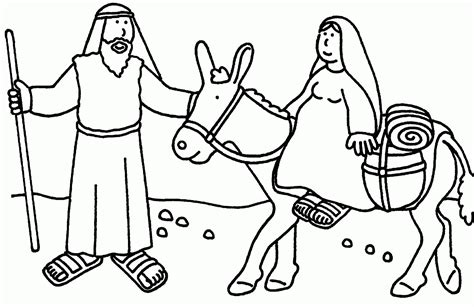 Bible Christmas Story Coloring Pages Coloring Home Printable Bible Story Coloring Pages