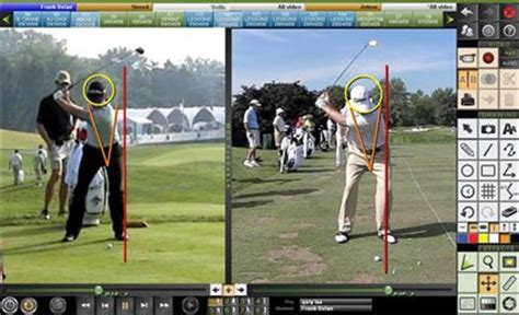 golf swing analysis software free home teachinggolfonline