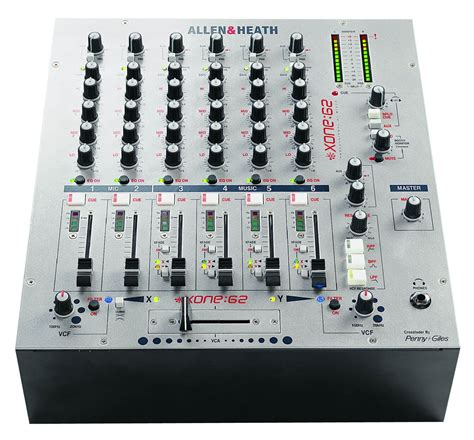 Allen Heath Dj Mixer Xone 62 allen heath xone 62 mixer hire and surrey