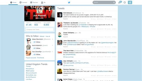 layout web mobile new twitter for web design rolls out to all users