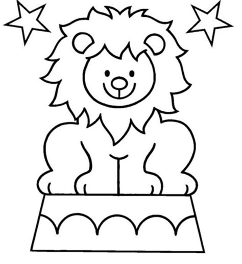 circus lion coloring pages lion coloring pages coloring town