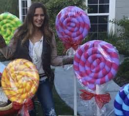Giant lollipops diy youtube