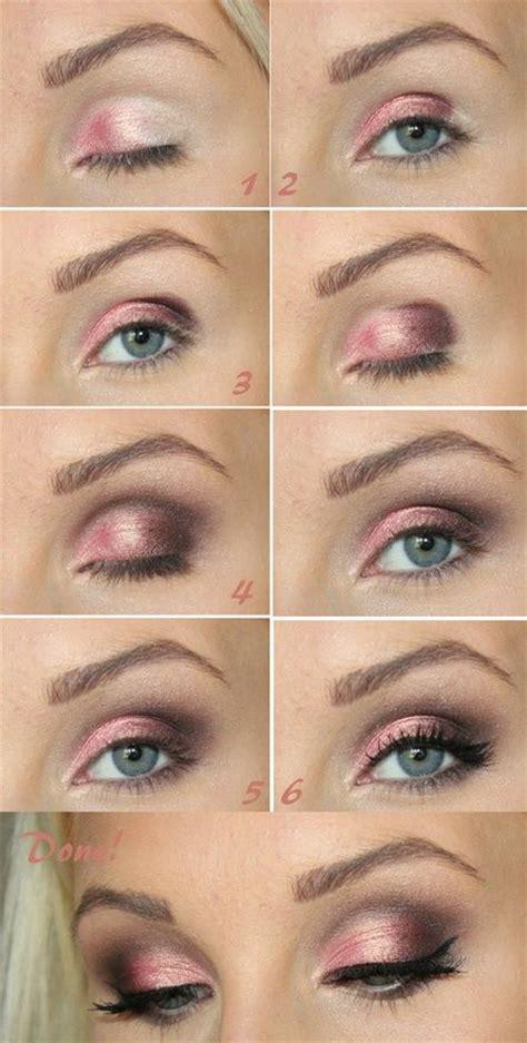 makeup paso a paso 14 pretty pink smokey eye makeup pretty