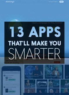 24 Daily Habits That Will Make You Smarter Business Insider 13 Apps That Ll Teach You Something New Every Day Hacks Productivity And Smarty