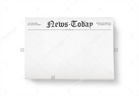 newspaper header template blank newspaper template madinbelgrade