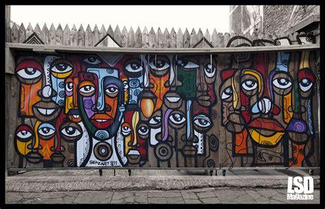 design art uk mexican street artist sens art in london lsd magazine