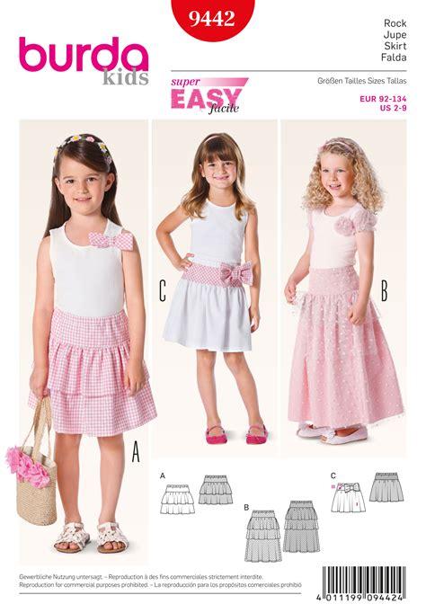 sewing pattern review blog burda 9442 children