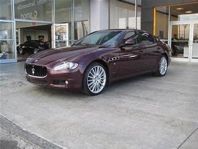 how petrol cars work 2011 maserati quattroporte navigation system find used 2011 maserati quattroporte s 4 7 still under factory warranty clean navigation in