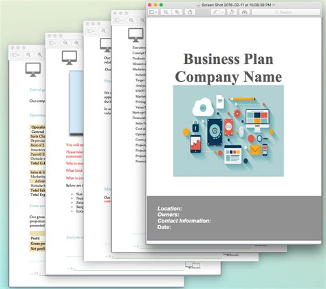 Website Design And Development Business Plan Sle Pages Black Box Business Plans Business Layout Template