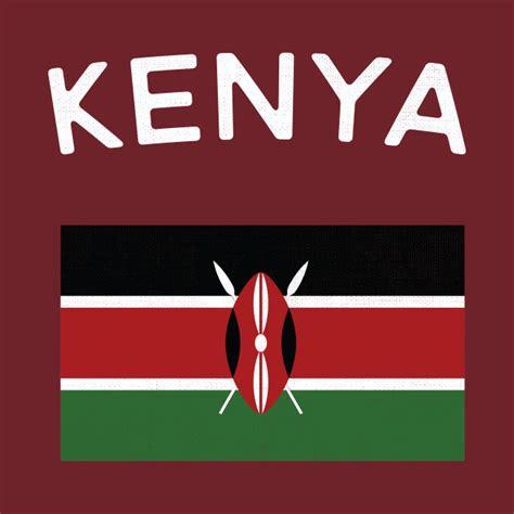 kenya flag colors kenya flag kenya t shirt teepublic