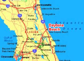 daytona florida central florida map