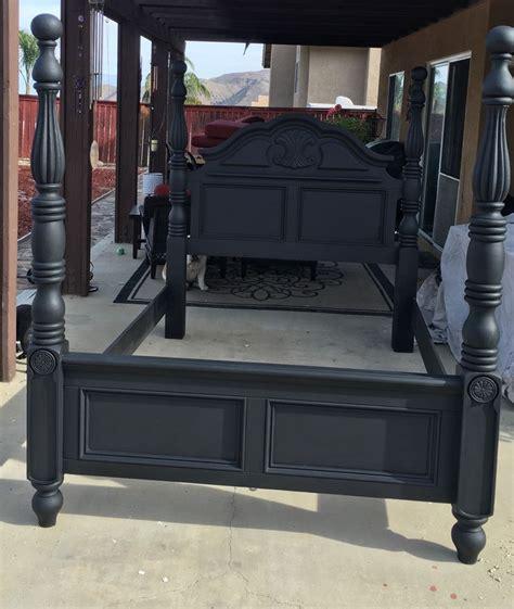 Black Vintage Bedroom Furniture Best 25 Chalk Paint Bed Ideas On Frames Farm Antique Black Bedroom Furniture Simple