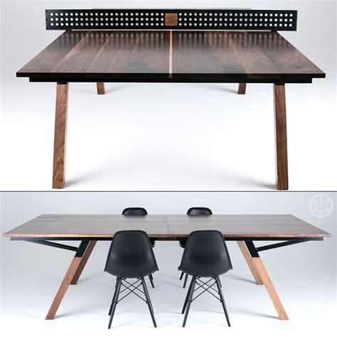 lifetime ready 2 play ping pong table the woolsey walnut wood ping pong table dining table