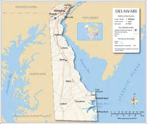 us map where is delaware delaware map usa