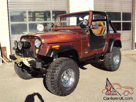 Jeep Cj Mods 1976 Jeep Cj 7 W 4 6 Liter Stroker T 18 Trans Atlas 4sp
