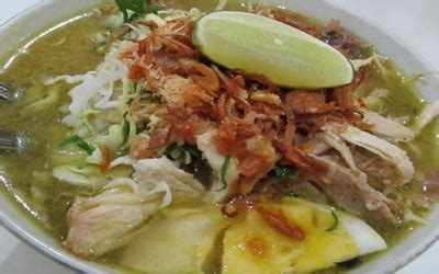 cara membuat soto ayam beserta gambar resep cara membuat soto ayam kuning enak dan segar kuahnya
