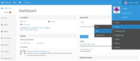 tutorial bootstrap ui new bootstrap style fancy admin ui for wordpress