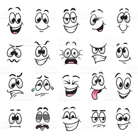 expression cartoons illustrations vector stock images cartoon faces expressions vector set stock vector art