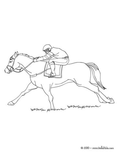 coloring page galloping horse galloping race horse coloring pages hellokids com