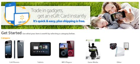 Walmart Gift Card Trade In - walmart launches quot gadgets to gift cards quot trade in program intomobile