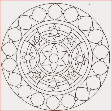 basic mandala coloring pages coloring pages basic mandala coloring pages free and