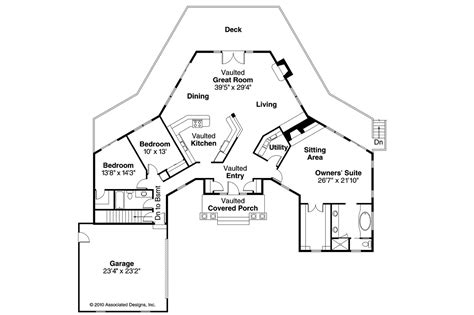 Traditional House Plans   Linfield 10 322   Associated Designs