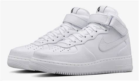 Air 1 White 1 nikelab air 1 mid leather sneaker bar detroit