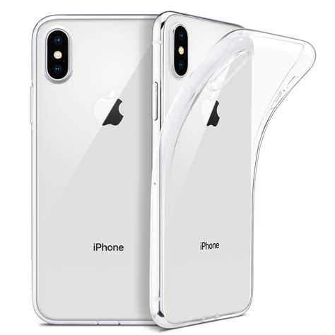 wefor slim clear soft tpu cover for iphone xs max xr support wireless charging for apple