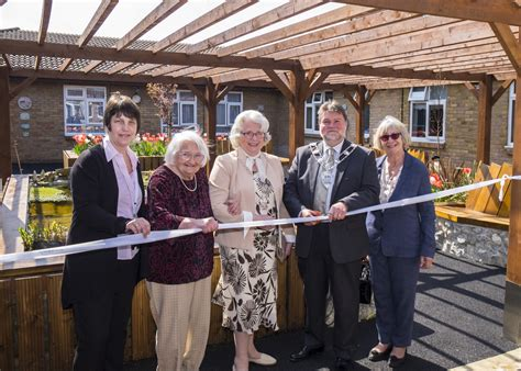 Nelson L Knock by Canterbury Residential Home Hosts Garden Opening With