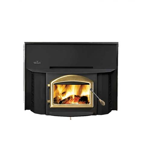 wood burner fireplace insert napoleon oakdale epi 1402 wood burning fireplace insert at