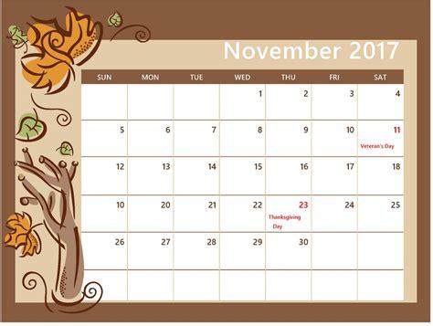 Calendar 2017 October November November 2017 Calendar Calendar Template October Calendar