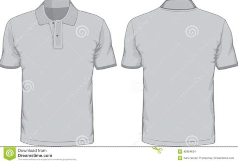 Polo Shirt Template Front And Back s polo shirts template front and back views stock