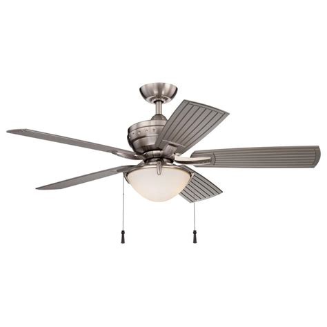 hton bay 4 winds 54 in led indoor outdoor brushed