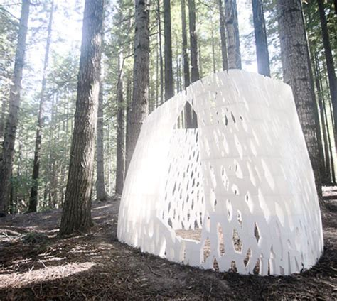 pavillon forst forest pavilion is world s 3d printed architecture