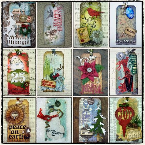 12 tags of christmas 2010 tim holtz