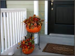 bloombety simple autumn porch decorating ideas autumn