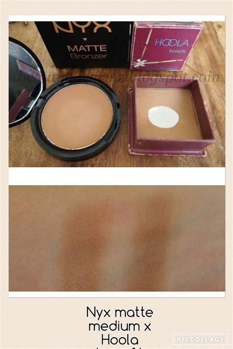 Nyx Matte Bronzer nyx matte bronzer medium dupe hoola makeup