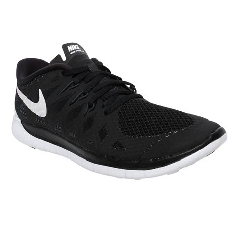 nike free 5 0 youth shoes black white