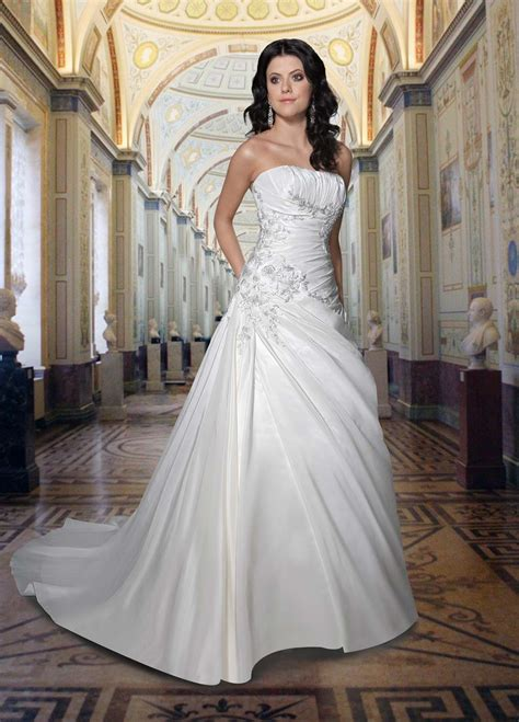 strapless wedding dresses 2 sang maestro
