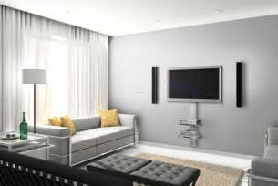tv on the wall ideas contemporary living room decorating with wall mount tv