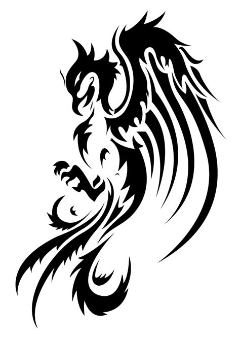 tribal phoenix back tattoo tattoos designs ideas and meaning tattoos for you