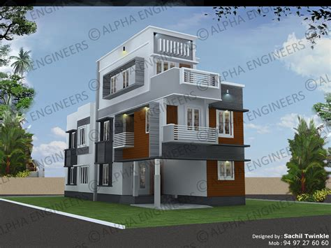 contemporary style kerala home design contemporary style designs kerala model home plans