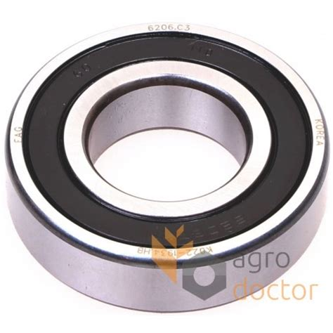 Bearing 6006 2rsr C3 6206 2rsr c3 groove bearing oem 216084 0 215467 0 for claas baler buy